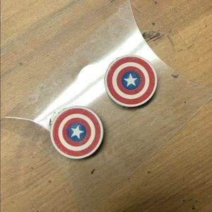 🐢 FREE ADD ON Captain America beads